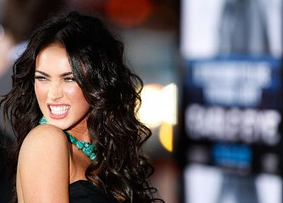 brunettes, women, Megan Fox, actress, celebrity - desktop wallpaper