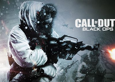 video games, Call of Duty: Black Ops - random desktop wallpaper