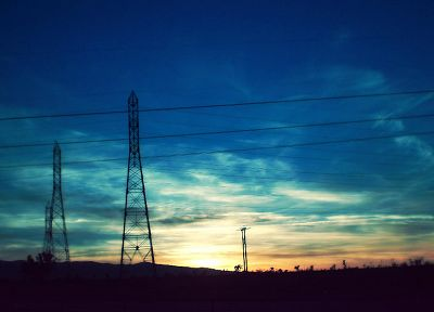 nature, power lines - random desktop wallpaper