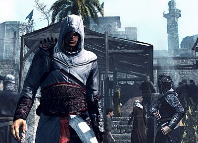 video games, Assassins Creed, Altair Ibn La Ahad, games - related desktop wallpaper