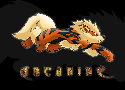 Pokemon, Arcanine - random desktop wallpaper