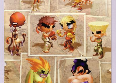 video games, Street Fighter, artbook, artwork, Andrew Wilson - related desktop wallpaper