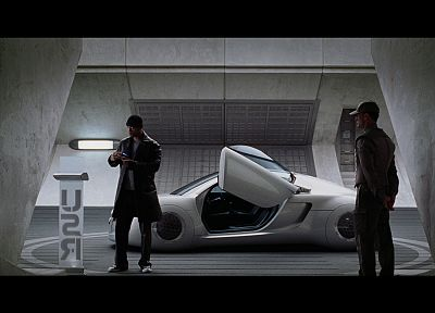 movies, cars, screenshots, Will Smith, I, robot - desktop wallpaper