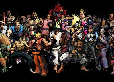 Street Fighter - random desktop wallpaper