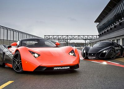 cars, roads, Marussia, russian cars - related desktop wallpaper