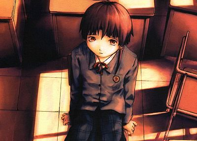 Serial Experiments Lain - random desktop wallpaper