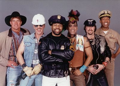 Village People - random desktop wallpaper