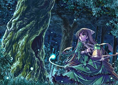 forests, Rozen Maiden, Suiseiseki, anime - random desktop wallpaper