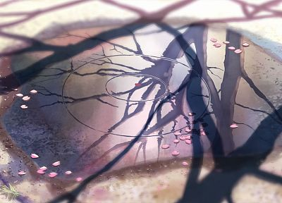 Makoto Shinkai, 5 Centimeters Per Second - newest desktop wallpaper