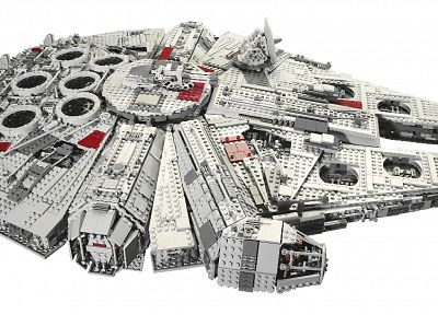 Star Wars, Millennium Falcon, Legos - related desktop wallpaper