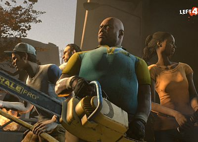 video games, zombies, Left 4 Dead, left 4 dead 2 - related desktop wallpaper