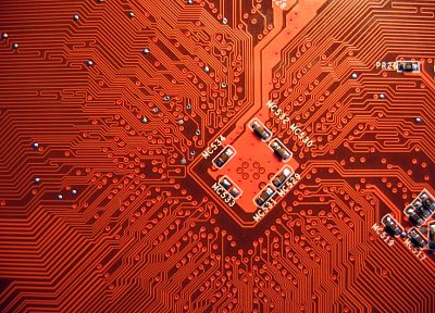 computers, technology, PCB, circuits, computers components - random desktop wallpaper