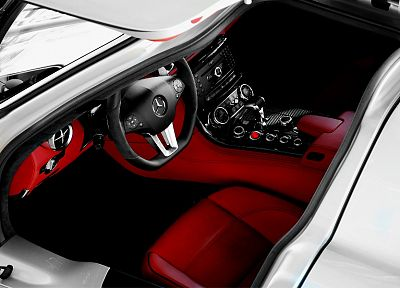 cars, car interiors, Mercedes-Benz - desktop wallpaper