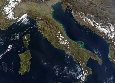 satellite, maps, Italy - related desktop wallpaper