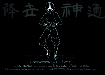 Avatar: The Last Airbender, Aang - related desktop wallpaper