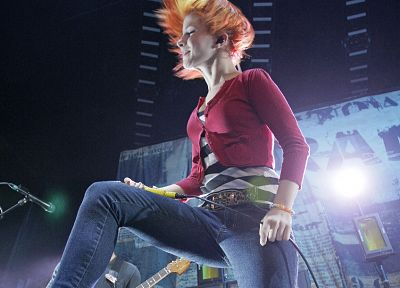 Hayley Williams, Paramore, women, music, redheads, celebrity, singers, band - related desktop wallpaper