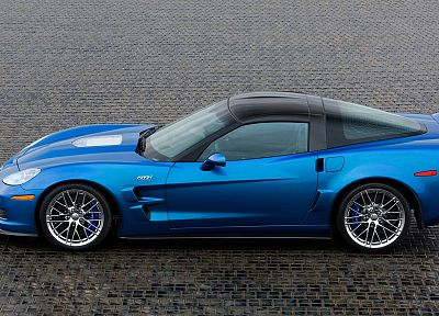 cars, Chevrolet, vehicles, Chevrolet Corvette, Chevrolet Corvette ZR1, blue cars - desktop wallpaper