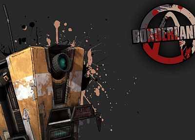 Borderlands, claptrap - random desktop wallpaper