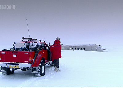 snow, Top Gear, BBC, arctic, hilux, vehicles, Jeremy Clarkson, James May, races, arctic truck - random desktop wallpaper