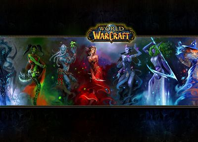 World of Warcraft - random desktop wallpaper