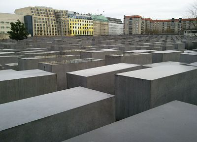 stones, rectangles, holocaust monument berlin - random desktop wallpaper