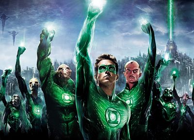 Green Lantern, movies, DC Comics, Ryan Reynolds - desktop wallpaper