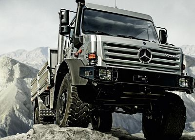 cars, trucks, vehicles, Mercedes-Benz, unimog - related desktop wallpaper