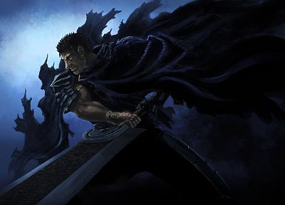 Guts, swords - random desktop wallpaper
