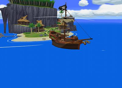 The Legend of Zelda, The Wind Waker - random desktop wallpaper