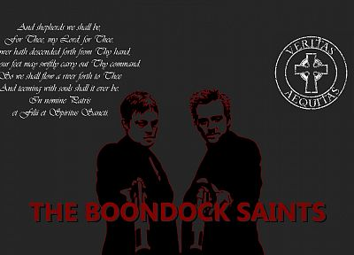 movies, text, Boondock Saints - random desktop wallpaper