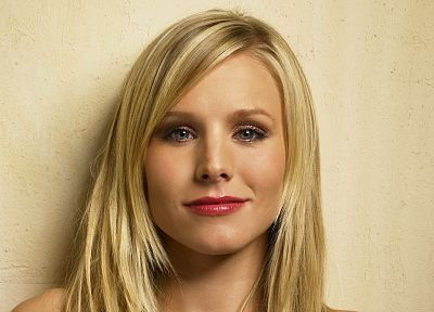 women, Kristen Bell, actress, celebrity, faces - random desktop wallpaper