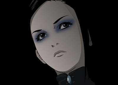Ergo Proxy, transparent, Re-l Mayer, anime vectors - random desktop wallpaper