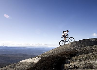 climbing, mountains, landscapes, bike, sports - related desktop wallpaper