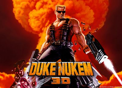 3D view, Duke Nukem - random desktop wallpaper