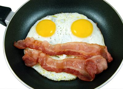 eggs, bacon, egg omelets, fried eggs - random desktop wallpaper
