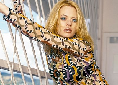 blondes, women, Jeri Ryan - random desktop wallpaper