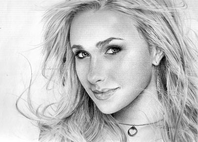women, actress, Hayden Panettiere, celebrity - desktop wallpaper