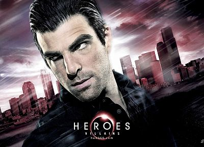 Heroes (TV Series), Zachary Quinto, TV posters - random desktop wallpaper