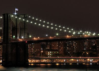 cityscapes, bridges, urban, buildings, New York City - related desktop wallpaper