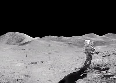 Moon, astronauts, Moon Landing - related desktop wallpaper