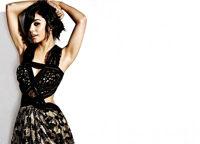 brunettes, women, actress, models, celebrity, Vanessa Hudgens - related desktop wallpaper
