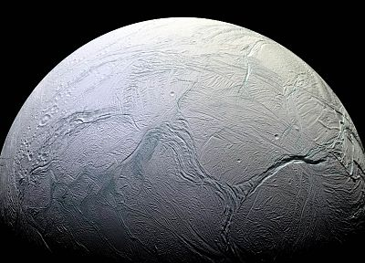 planets, surface, Enceladus - random desktop wallpaper