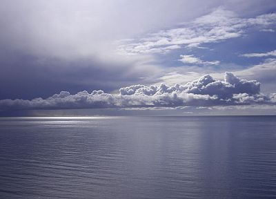 water, ocean, clouds, sea - desktop wallpaper