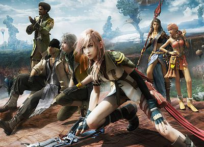 Final Fantasy, video games, Oerba Dia Vanille, Claire Farron - desktop wallpaper