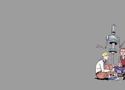 The Venture Bros., adult swim, Hank Venture, Dean Venture, H.E.L.P.eR - desktop wallpaper