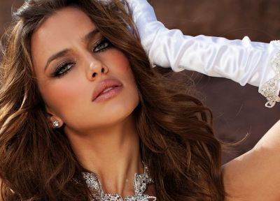 women, Irina Shayk, faces - random desktop wallpaper