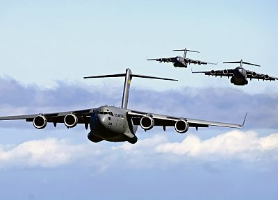 aircraft, military, United States Air Force, vehicles, transportation, C-17 Globemaster, air force - related desktop wallpaper