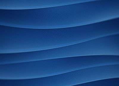 abstract, blue, waves - random desktop wallpaper