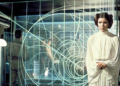 Star Wars, movies, Carrie Fisher, Leia Organa - desktop wallpaper