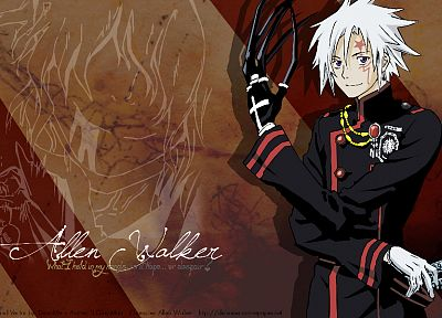 D.Gray-man - random desktop wallpaper